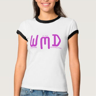 多くの気晴らし(紫色の文字)の武器 Tシャツ