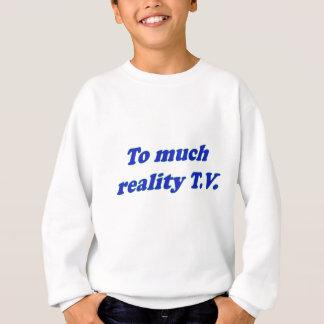 多くの現実t.vに スウェットシャツ