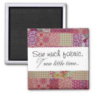 多くの生地を縫って下さい、少し時間を…縫って下さい マグネット