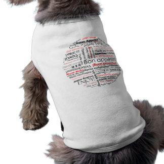 多くの異なった言語タイポグラフィの糖菓のappetit ペット服