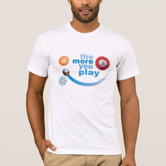 多くを遊びます Tシャツ