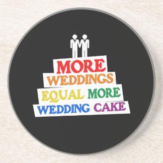 多く|結婚式|同輩|結婚|ケーキ|同性愛者 ドリンクコースター