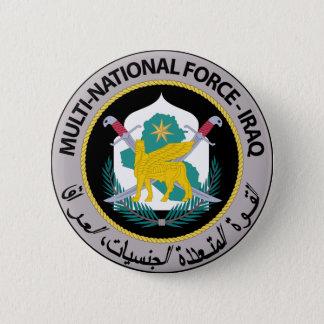 多国籍力-イラク(1) 5.7CM 丸型バッジ