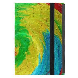 多彩で幾何学的なねじれの抽象芸術5 iPad MINI ケース