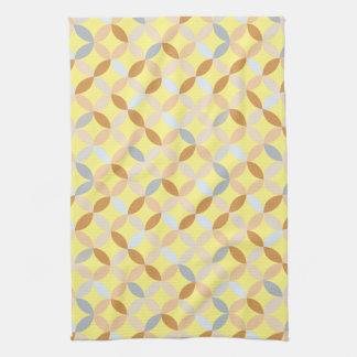 多彩で幾何学的なパターン キッチンタオル