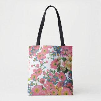 多彩で美しい花のトートバック トートバッグ