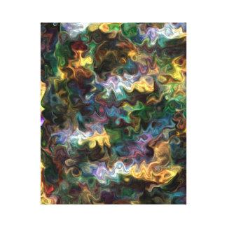 多彩で鮮やかで抽象的な発見の平和228Y キャンバスプリント
