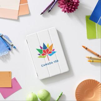 多彩なカナダ150の役人のロゴ- iPad MINIカバー