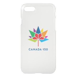 多彩なカナダ150の役人のロゴ- iPhone 8/7 ケース