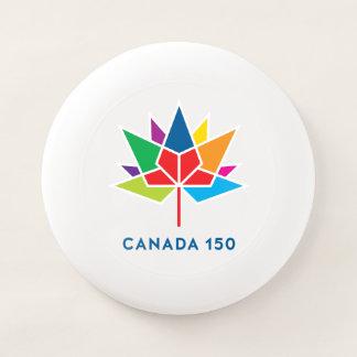 多彩なカナダ150の役人のロゴ- Wham-Oフリスビー