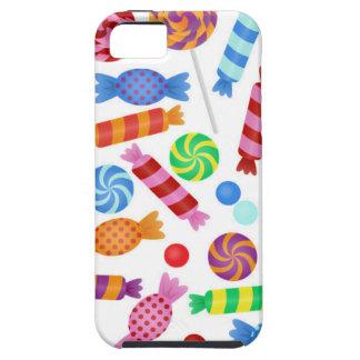 多彩なキャンデー iPhone SE/5/5s ケース