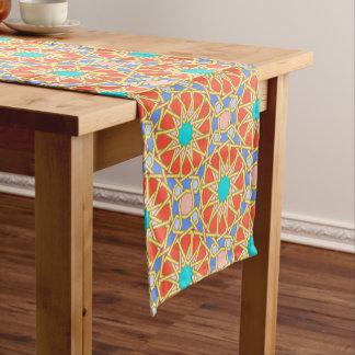 多彩なグラナダ ショートテーブルランナー