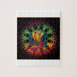 多彩なコブラ ジグソーパズル