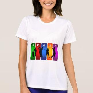 多彩なゴルフ紋章 Tシャツ