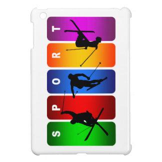 多彩なスキー紋章 iPad MINIカバー