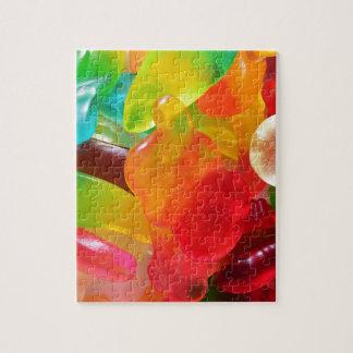 多彩なゼリーのゴムの質 ジグソーパズル