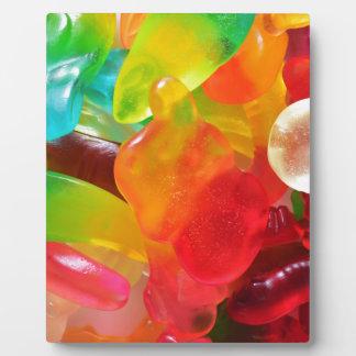 多彩なゼリーのゴムの質 フォトプラーク