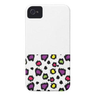 多彩なチータのプリントのiphone 4/4sの箱 Case-Mate iPhone 4 ケース
