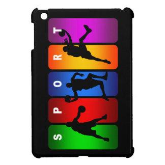 多彩なバスケットボールの紋章 iPad MINIカバー
