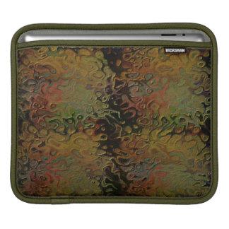 多彩なパターン袖 iPadスリーブ