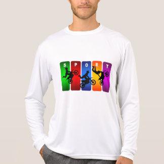 多彩なモトクロスの紋章 Tシャツ