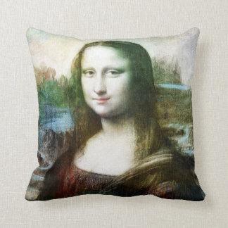 多彩なモナ・リザの芸術の枕3 クッション