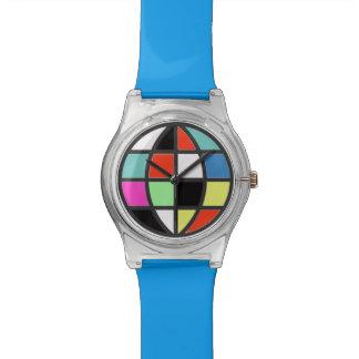 多彩な世界の地球 腕時計
