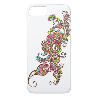 多彩な孔雀のiPhone 7の箱 iPhone 7ケース