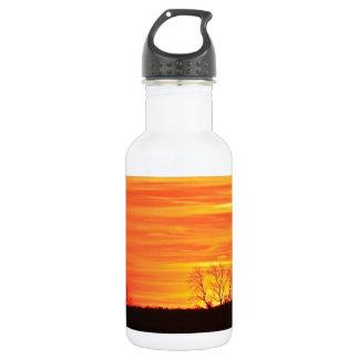 多彩な日の出 ウォーターボトル
