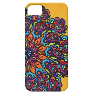 多彩な曼荼羅の花 iPhone SE/5/5s ケース