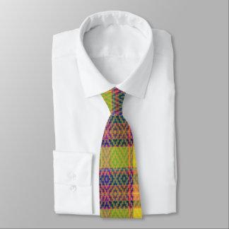 多彩な格子縞の首のタイ ネクタイ