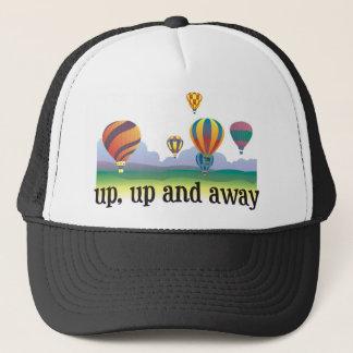 多彩な気球の飛んでいるなギフト-熱気は風船のようにふくらみます キャップ