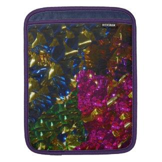 多彩な組合せの袖 iPadスリーブ