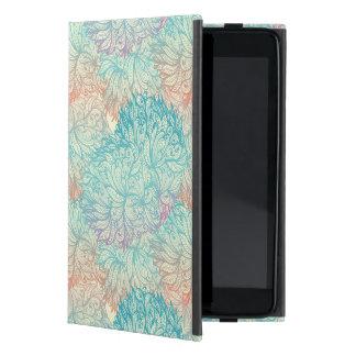 多彩な花の落書きパターン iPad MINI カバー