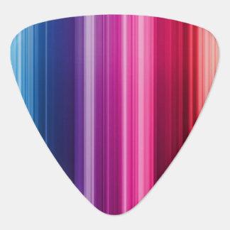 多彩な虹のギターの一突き ギターピック
