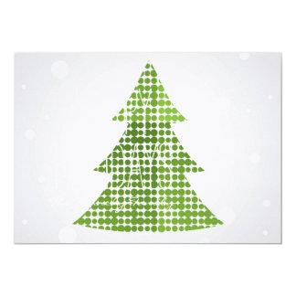 多彩な装飾が付いているクリスマスツリー カード