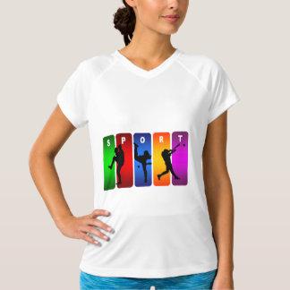 多彩な野球の紋章 Tシャツ