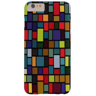 多彩な長方形パターンiPhone6ケース Barely There iPhone 6 Plus ケース