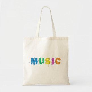 多彩な音楽 トートバッグ