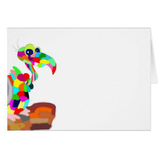 多彩な鳥 カード