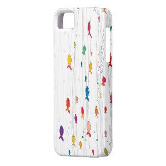 多彩なfishies iPhone SE/5/5s ケース