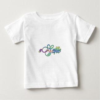 多彩なHashtag Selfie ベビーTシャツ