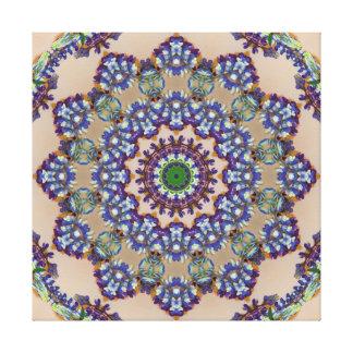 多彩ののどによって編まれる曼荼羅 キャンバスプリント