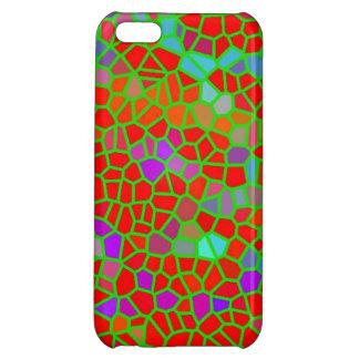 多彩のステンドグラス iPhone 5C カバー
