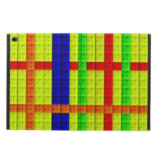 多彩のブロックパターン POWIS iPad AIR 2 ケース
