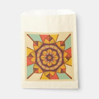 多彩の幾何学的な華麗さ フェイバーバッグ