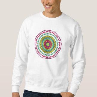 多彩の曼荼羅 スウェットシャツ