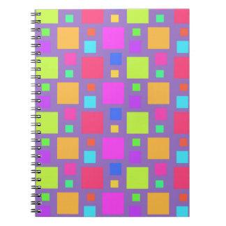 多彩の正方形2011年 ノートブック