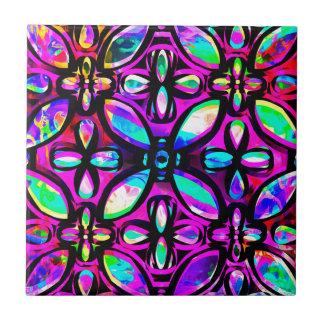 多彩の水晶 タイル
