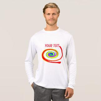 多彩の渦巻 Tシャツ